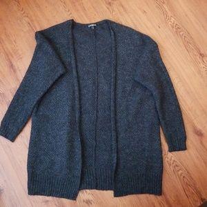 Charcoal Express cardigan